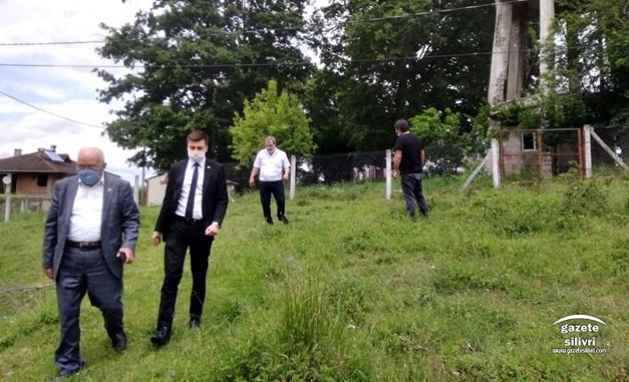CHP Silivri'den Köylere Çıkarma