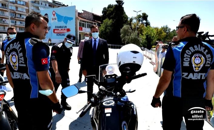 MOTORİZE ZABITA EKİPLERİ GÖREVE BAŞLADI