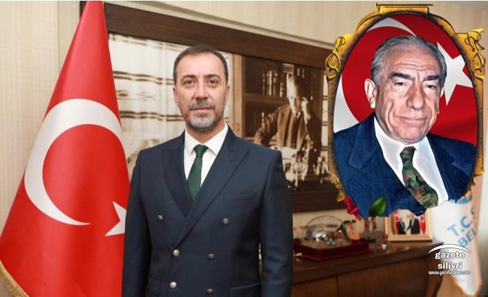 """Başkan Yılmaz;""""Merhum Başbuğ Alparslan Türkeş'e çok şey borçluyuz."""""""