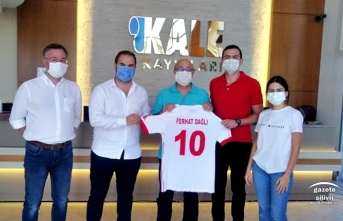 KALE KAYIŞLARI Silivrispor'a Forma Sponsoru Oldu...