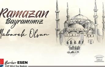 """Esen;""""Ramazan Bayramınızı Kutluyorum"""""""