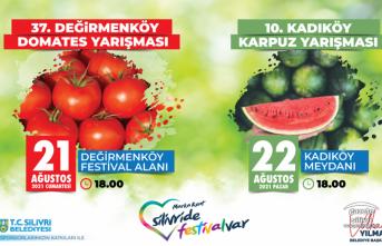 DOMATES VE KARPUZ FESTİVALİ BU HAFTA SONU