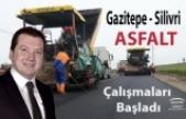 Gazitepe Silivri Arası Yol Asfaltlama Çalışması Başladı