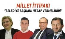 """Silivri Millet İttifakı;""""Belediye Başkanı Hesap Vermelidir!"""""""