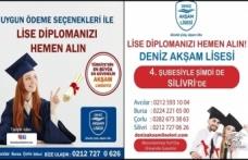 DENİZ AKŞAM LİSESİ 4.ŞUBESİYLE ŞİMDİ DE SİLİVRİ DE..