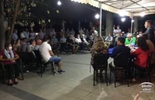 CHP Silivri, Yolçatı ve Çeltik'te SEN Ziyaretinde...