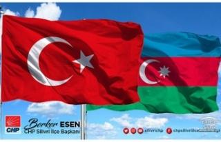 Esen; Azerbaycan'ın acısı bizim de acımız...