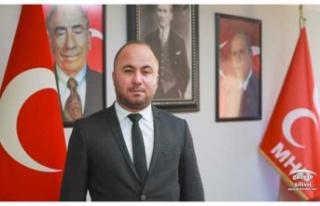 """Yalçın; """"Türk Milleti Her Daim Hedefe Ulaşmıştır"""""""