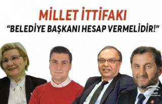 """Silivri Millet İttifakı;""""Belediye Başkanı..."""
