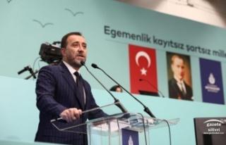 BAŞKAN YILMAZ'DAN İBB MECLİSİNDE SU TASARRUFU...