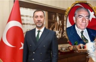"""Başkan Yılmaz;""""Merhum Başbuğ Alparslan Türkeş'e..."""