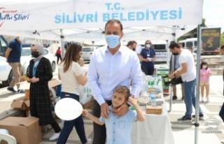 SİLİVRİ BELEDİYESİNDEN ANLAMLI 'ÇEVRE GÜNÜ'...