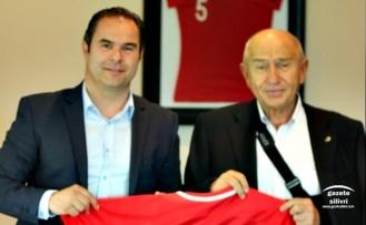 Güraslan, TFF Başkanı Özdemir ile Biraraya Geldi