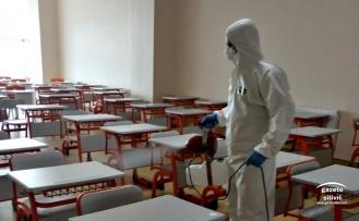 LGS öncesi Odak Okulları dezenfekte edildi