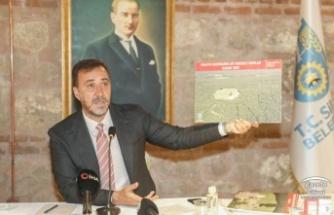"""BAŞKAN YILMAZ'DAN """"SİLİVRİ'YE HİZMETTE 1.YIL"""" TOPLANTISI"""