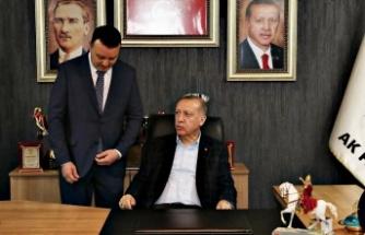 """Başkan Bozoğlu;""""Hayırlı Olsun"""""""