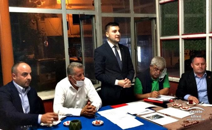 CHP Silivri Akören'de Halk Toplantısı Düzenledi