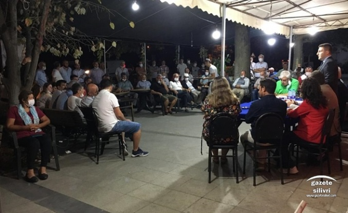CHP Silivri, Yolçatı ve Çeltik'te SEN Ziyaretinde Bulundu