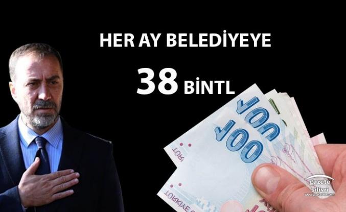 """BAŞKAN YILMAZ: """"HER AY 38 BİN TL """""""