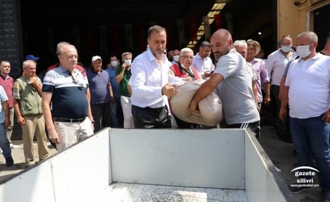 FENER MAHALLESİ'NDE TOHUMLUK ARPA COŞKUSU