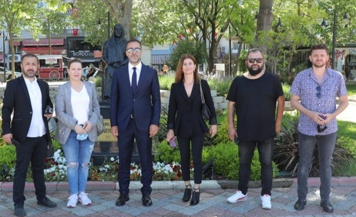 BAŞKAN YILMAZ, GAZETECİLER VE BASIN BAYRAMI'NI KUTLADI